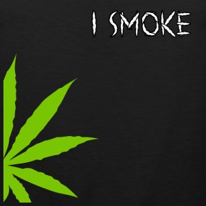 I Smoke Marijuana T-Shirt - Men's Premium Tank