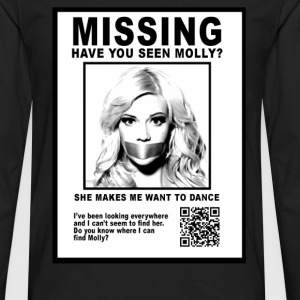 have you seen molly T-Shirts - Men's Premium Long Sleeve T-Shirt