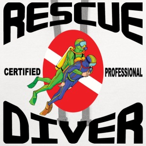 Rescue Diver T-Shirt - Contrast Hoodie