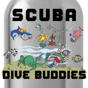 SCUBA Dive T-Shirt - Water Bottle