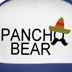 pancho bear name - Trucker Cap