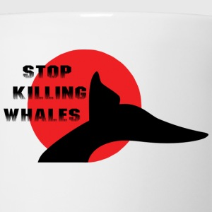 Japan Stop Killing Whales T-Shirt - Coffee/Tea Mug