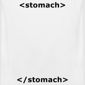 Stomach HTML T-shirt - Men's Premium Tank