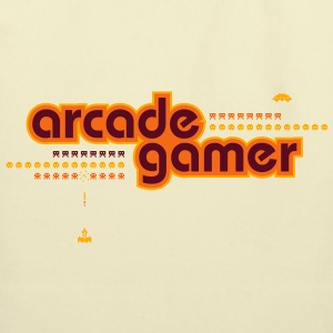 arcadegamer typo T-Shirts - Eco-Friendly Cotton Tote