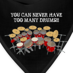 Too Many Drums! T-Shirt - Bandana
