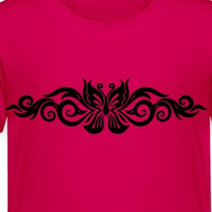 Butterfly Tribal Tattoo 10 Kids' Shirts - Toddler Premium T-Shirt