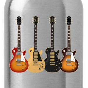 Four Electric Guitars: T-Shirt - Water Bottle