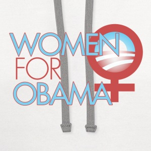 Women for Obama - Contrast Hoodie