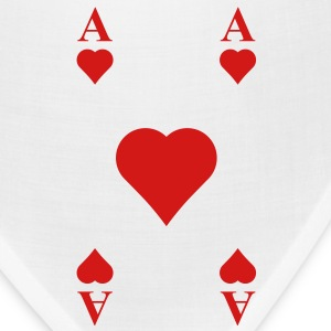 ace of hearts T-Shirts - Bandana