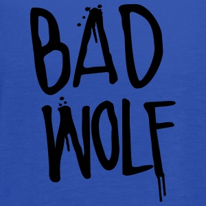 Doctor Who: Bad Wolf Womens Shirt - Women's Flowy Tank Top by Bella