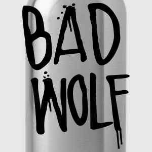 Doctor Who: Bad Wolf Womens Shirt - Water Bottle