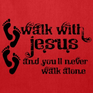 Walk With Jesus - Tote Bag