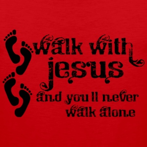 Walk With Jesus - Men's Premium Tank