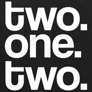 Two One Two Mens Tee Shirt by AiReal Apparel - Men's Premium Tank