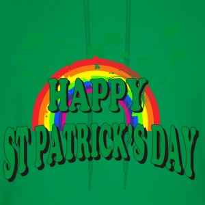 Happy St Patrick's Day T-Shirt - Men's Hoodie