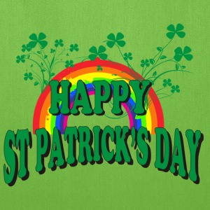 Happy St Patrick's Day T-Shirt - Tote Bag