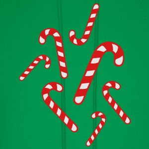 Candy cane christmas Women's T-Shirts - Men's Hoodie