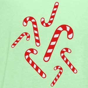 Candy cane christmas Women's T-Shirts - Women's Flowy Tank Top by Bella
