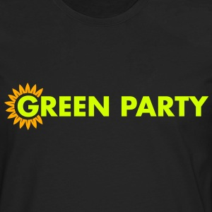 Green Party Logo - Men's Premium Long Sleeve T-Shirt