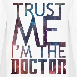 'Trust me I'm the doctor' for light background T-Shirts - Men's Premium Long Sleeve T-Shirt