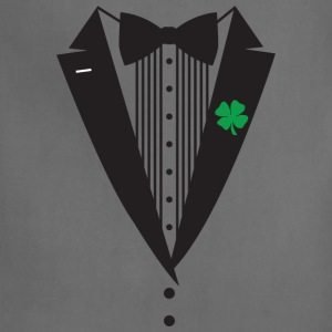 St Patrick's Day Tuxedo T-Shirt - Adjustable Apron