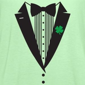 St Patrick's Day Tuxedo T-Shirt - Women's Flowy Tank Top by Bella