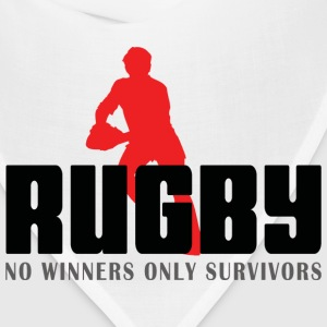 Rugby No Winners Only Survivors T-Shirt - Bandana