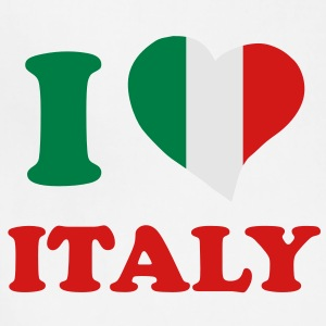 I love Italy T-Shirts - Adjustable Apron