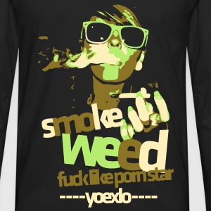 Smoke Weed - Men's Premium Long Sleeve T-Shirt