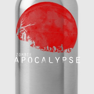 The Zombie Apocalypse T-Shirts - Water Bottle