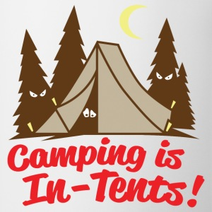 Camping Is In-Tents - Coffee/Tea Mug