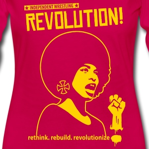 Indy Wrestling Revolution Kids' Shirts - Women's Premium Long Sleeve T-Shirt