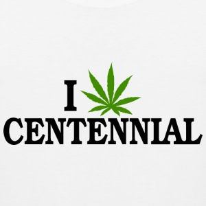 I Love Marijuana Centennial Colorado T-Shirt - Men's Premium Tank