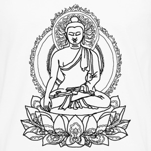 Buddha Lotus Seat - Men's Premium Long Sleeve T-Shirt