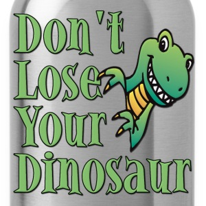 Don't Lose Your Dinosaur Stepbrothers T-Shirts - Water Bottle