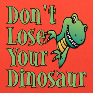 Don't Lose Your Dinosaur Stepbrothers T-Shirts - Tote Bag