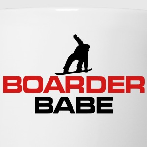 Boarder Babe Snowboard T-Shirt - Coffee/Tea Mug