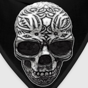 Decorated Skull | Men's plus size - Bandana
