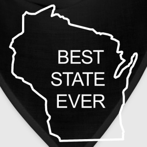 BEST STATE EVER - WISCONSIN T-Shirts - Bandana