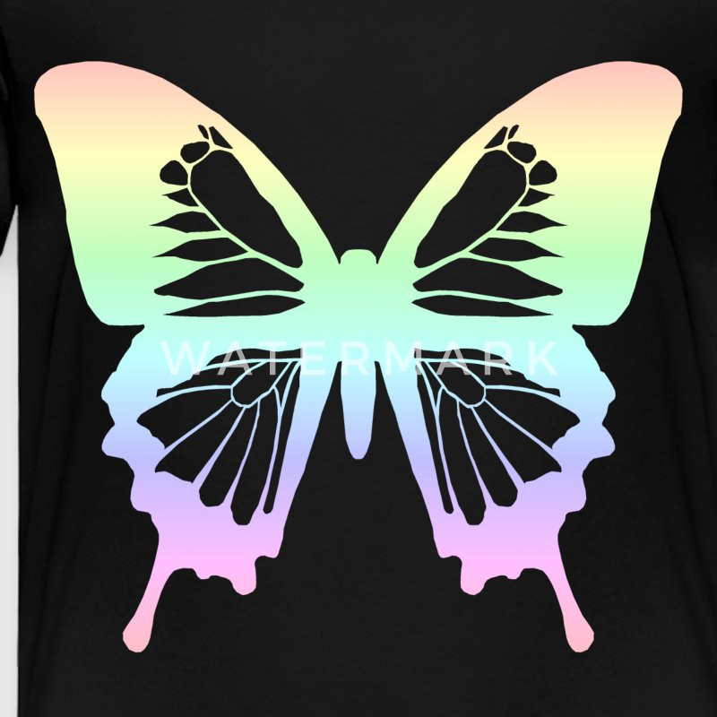 Butterfly - Pastel Rainbow Baby & Toddler Shirts - Toddler Premium T-Shirt