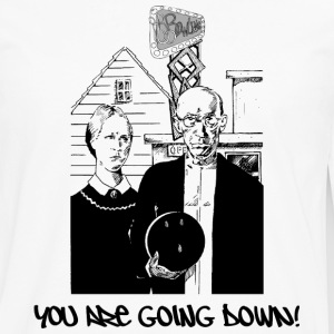 Bowling You Are Going Down T-Shirt - Men's Premium Long Sleeve T-Shirt