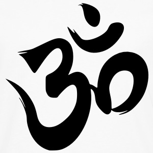 Aum Om Art Symbol T-Shirts - Men's Premium Long Sleeve T-Shirt