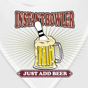 Instant Bowler Just Add Beer T-Shirt - Bandana