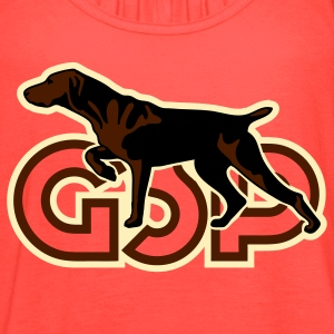 gsp_german_shorhaired_pointer T-Shirts - Women's Flowy Tank Top by Bella