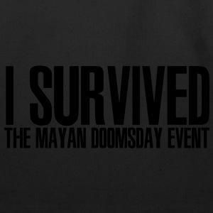 I Survived the Mayan Doomsday Event - Eco-Friendly Cotton Tote