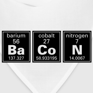 Ba Co N (Bacon) Periodic Elements  T-Shirts - Bandana
