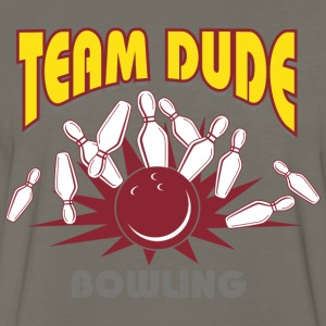 Bowling Team Dude T-Shirt - Men's Premium Long Sleeve T-Shirt