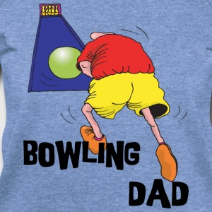 Bowling Dad T-Shirt - Women's Wideneck Sweatshirt