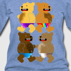 BIG BEARS OF SUMMER T-Shirts - Women's Wideneck Sweatshirt