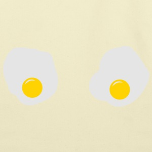 Fried Eggs (Sarah Lukas) T-Shirts - Eco-Friendly Cotton Tote